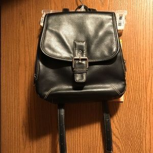 👜Black & Tan BackPack Pocketbook👜